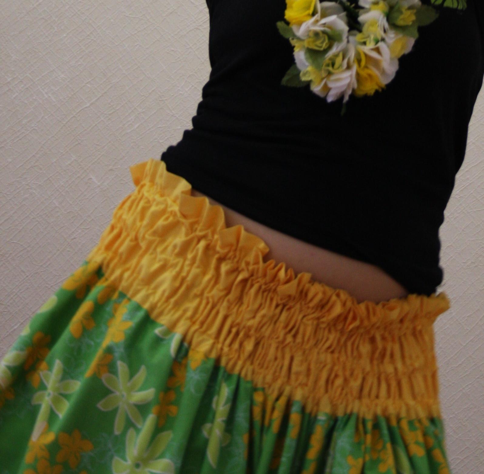 Как сделать юбку гавайи
